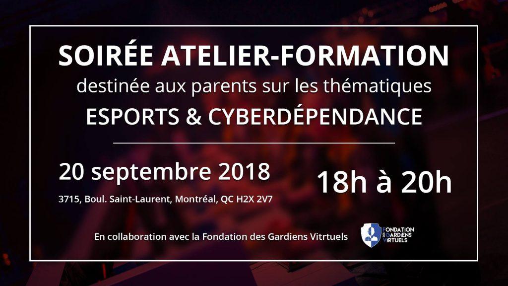 Atelier de formation : E-sports et Cyberdépendance